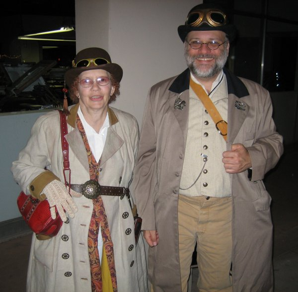 Jean & Randall at Steampunk Street